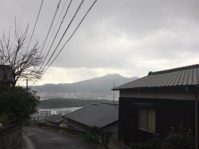 【雪が降り出しました!】